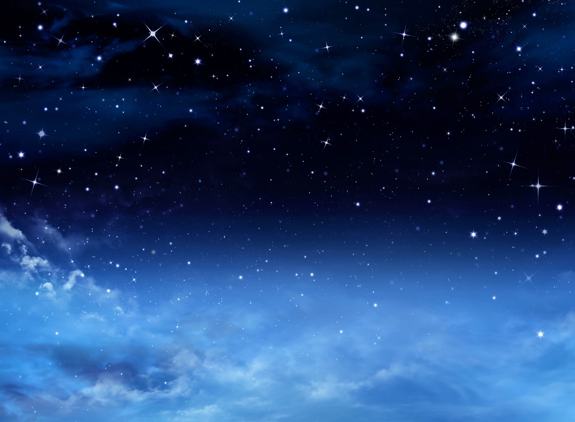 Night sky with stars-72 ppi