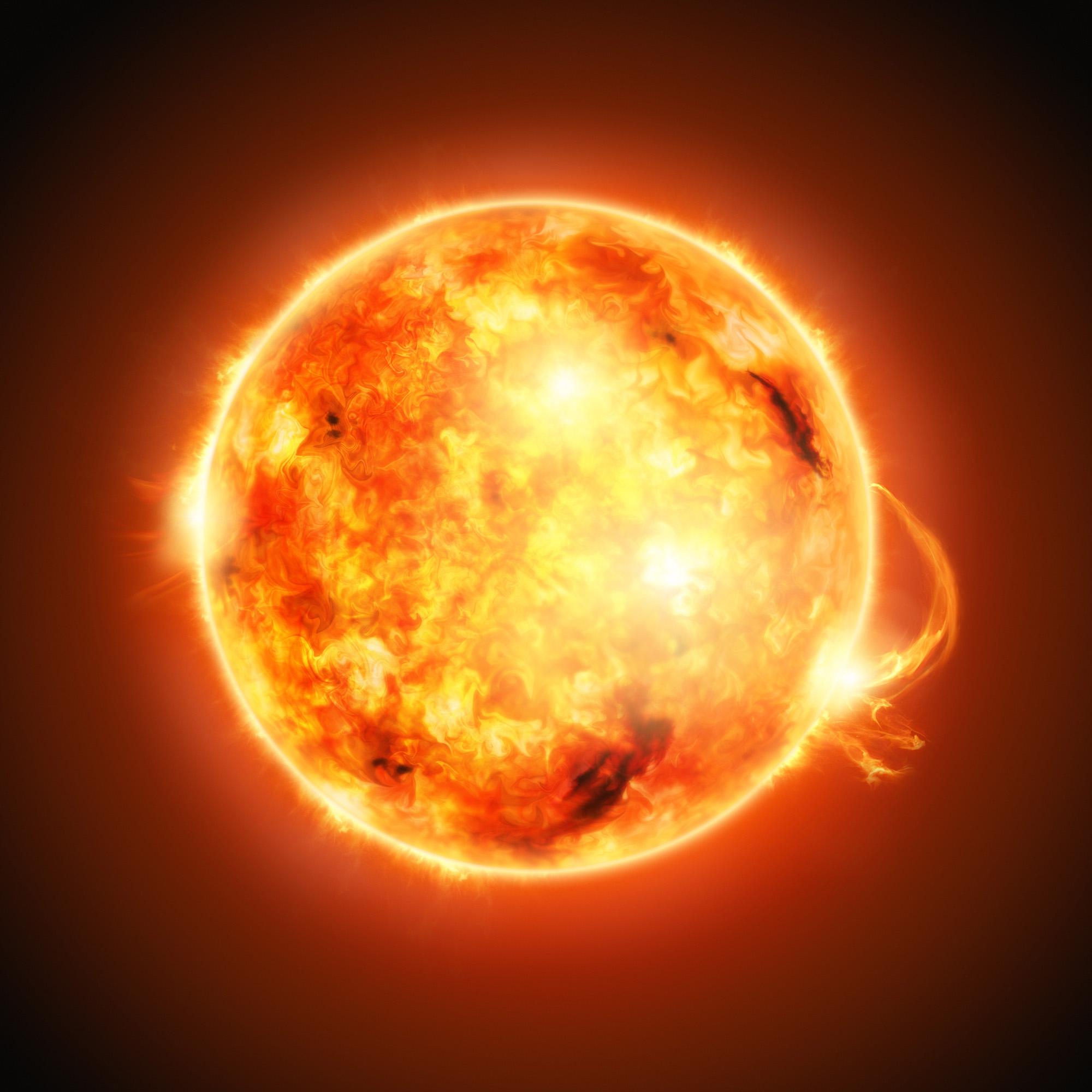 The Sun-72 ppi