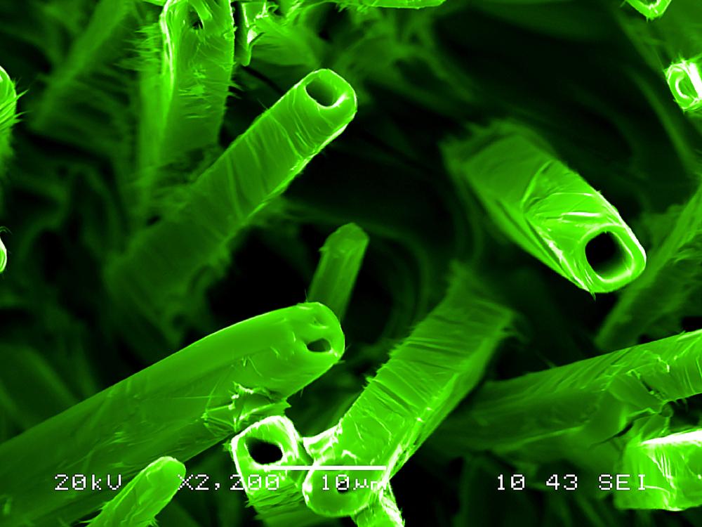 vanadium pentoxide microcrystals