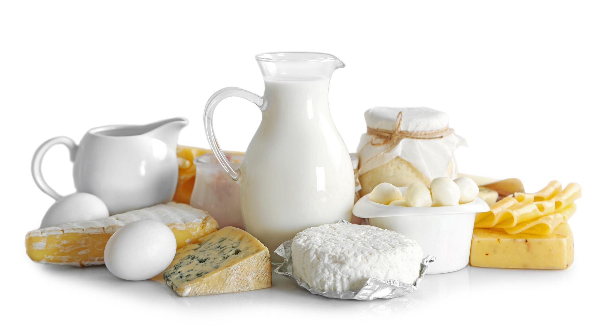 Set of fresh dairy products - 72 ppi