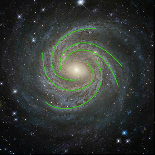 Our galaxy milky way