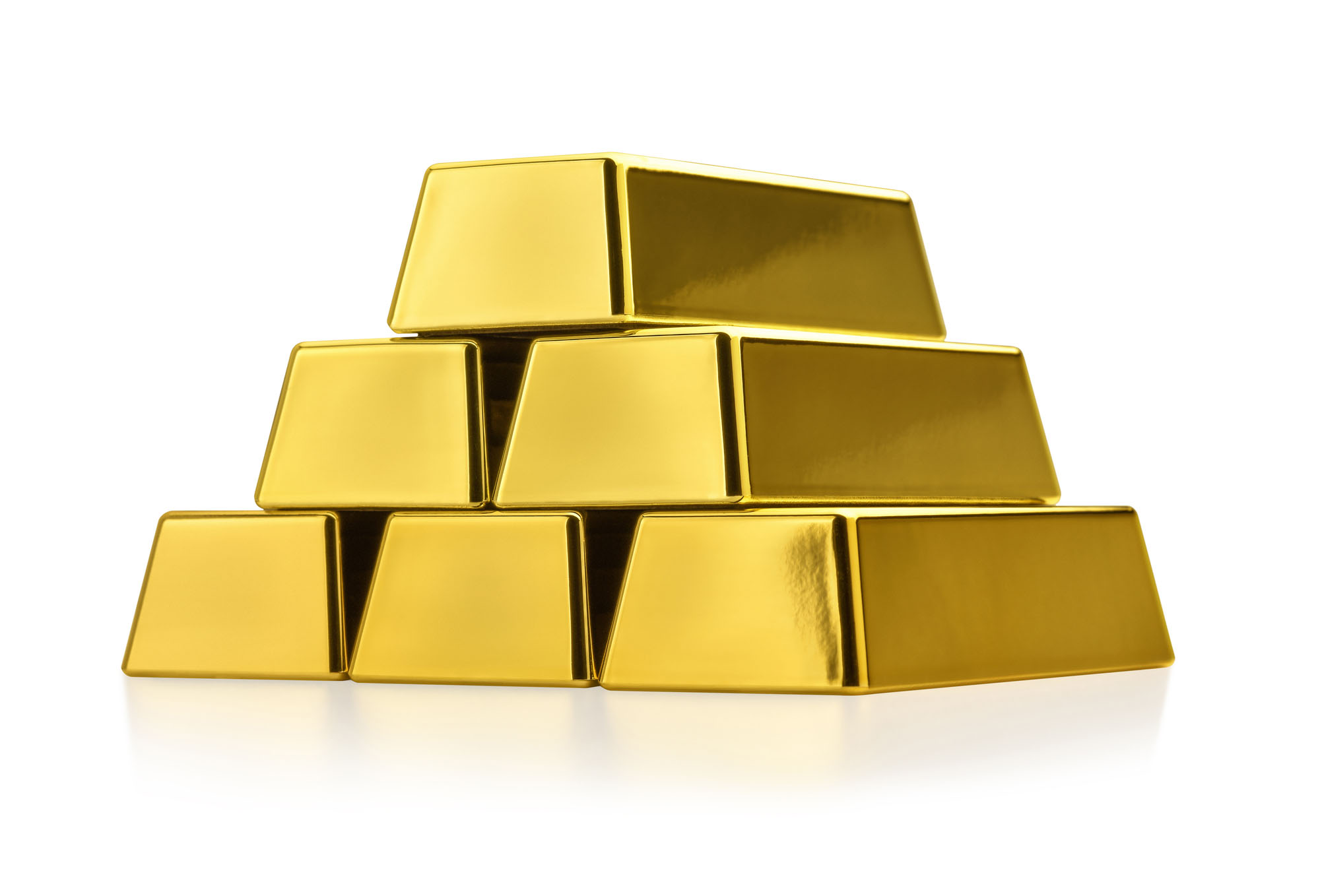 Conjunto de barras de ouro