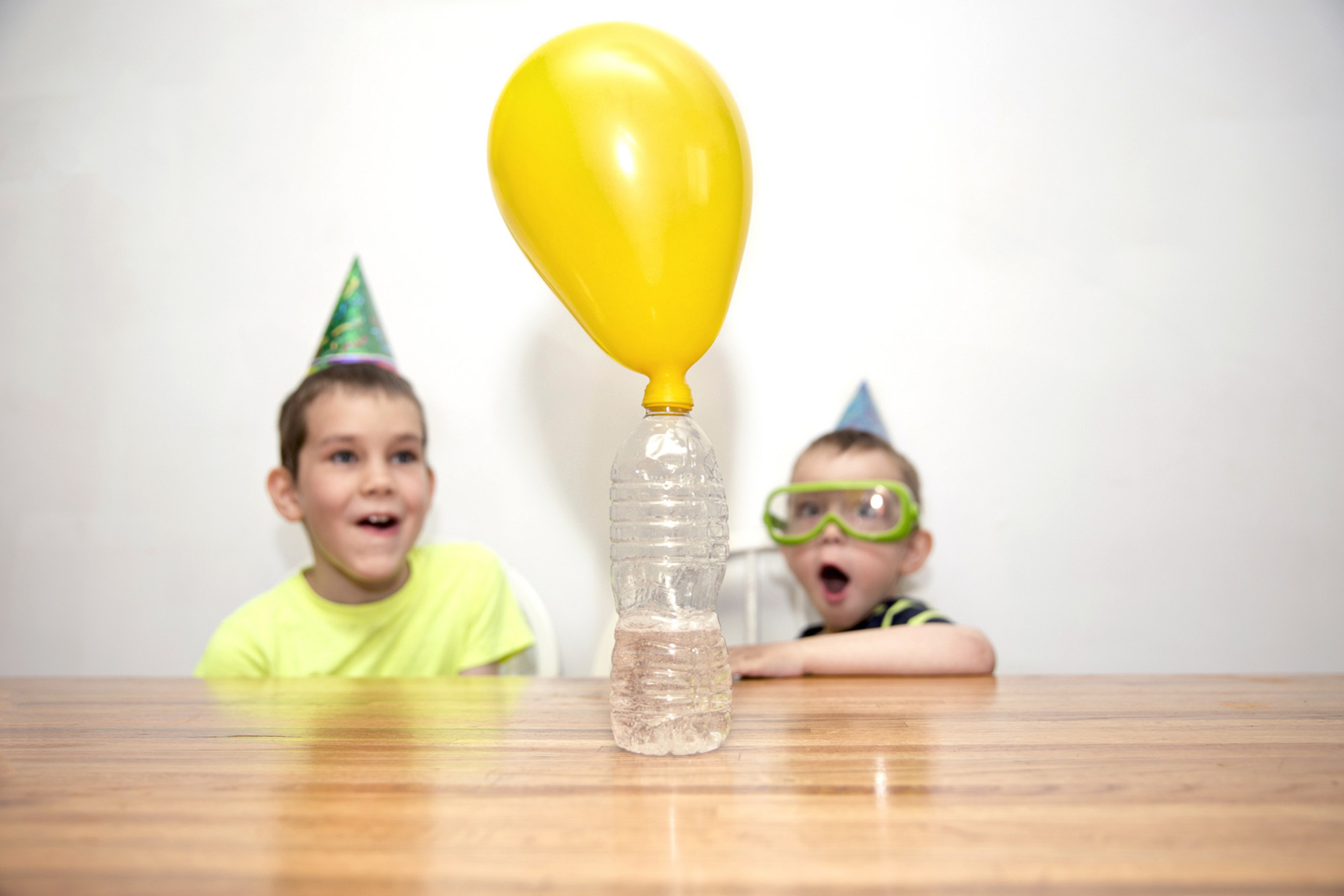 Two boys watching a chemistry experiment-72 ppi