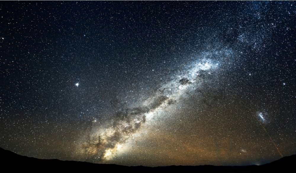 Wonderful Milky Way, seen from the desert of northern Chile