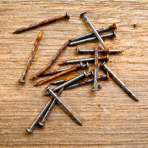 Old Vintage Rust Nails