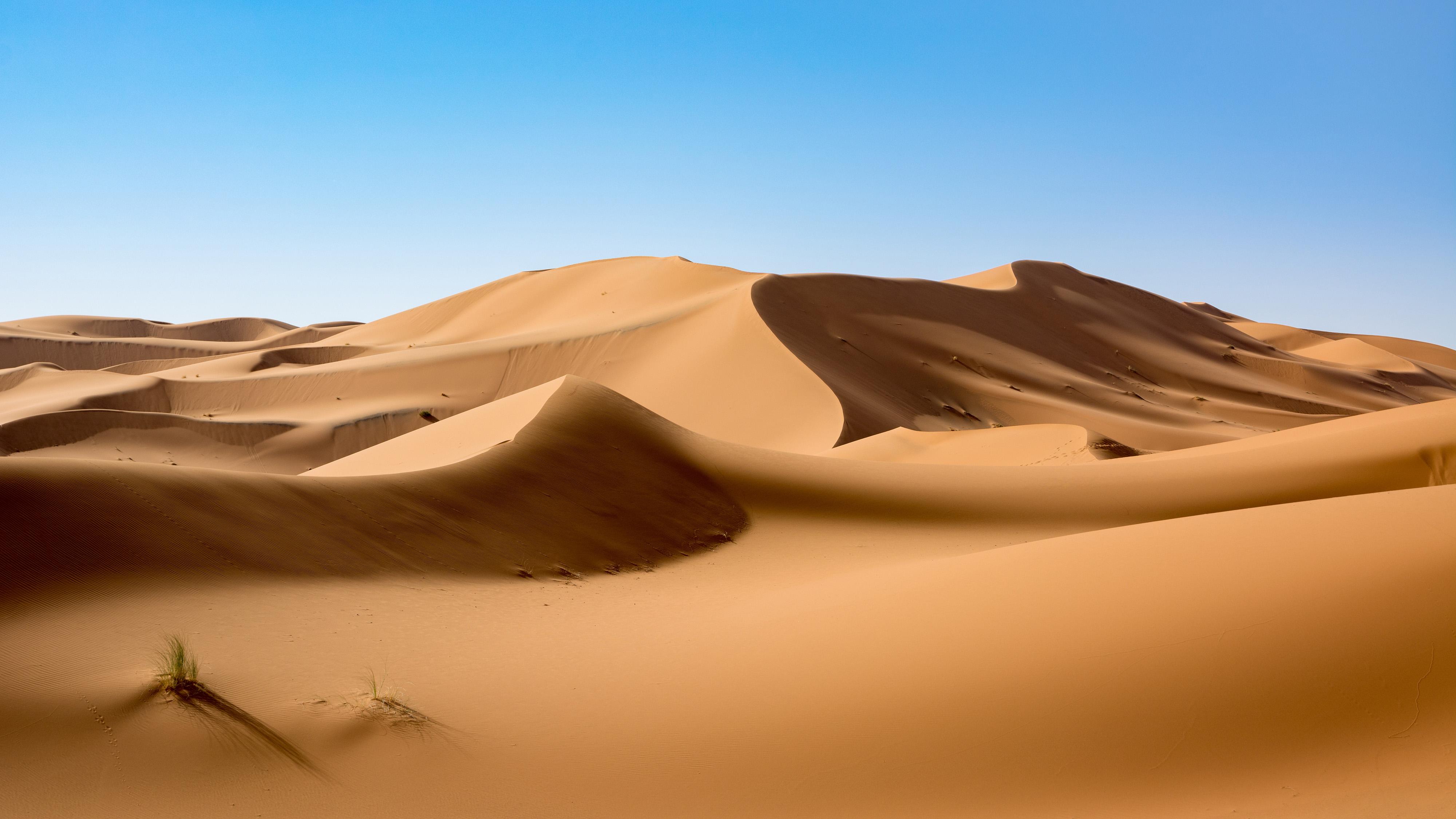 Dunas de Erg Chebbi no deserto do Saara