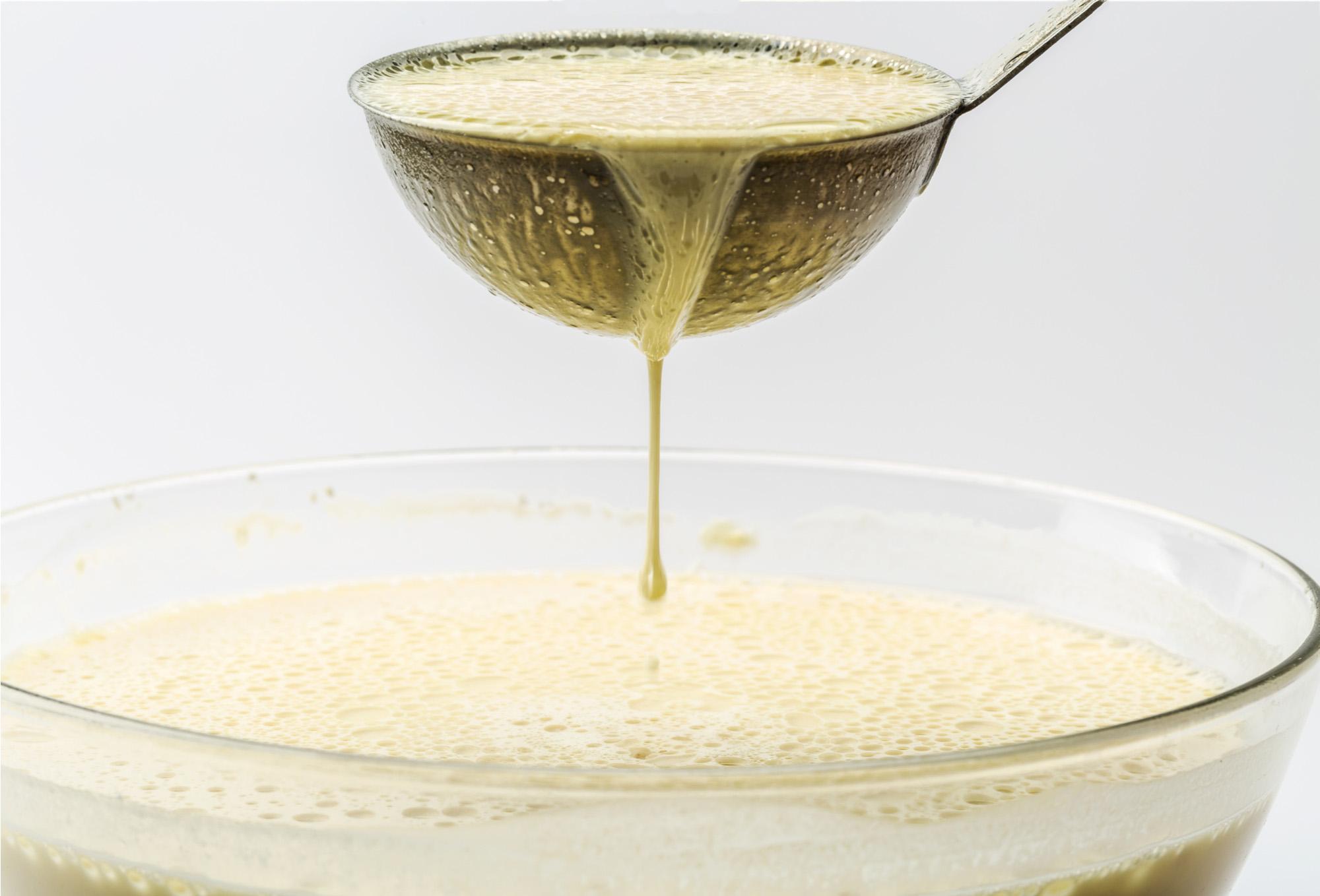 Liquid mix for pancakes-72 ppi