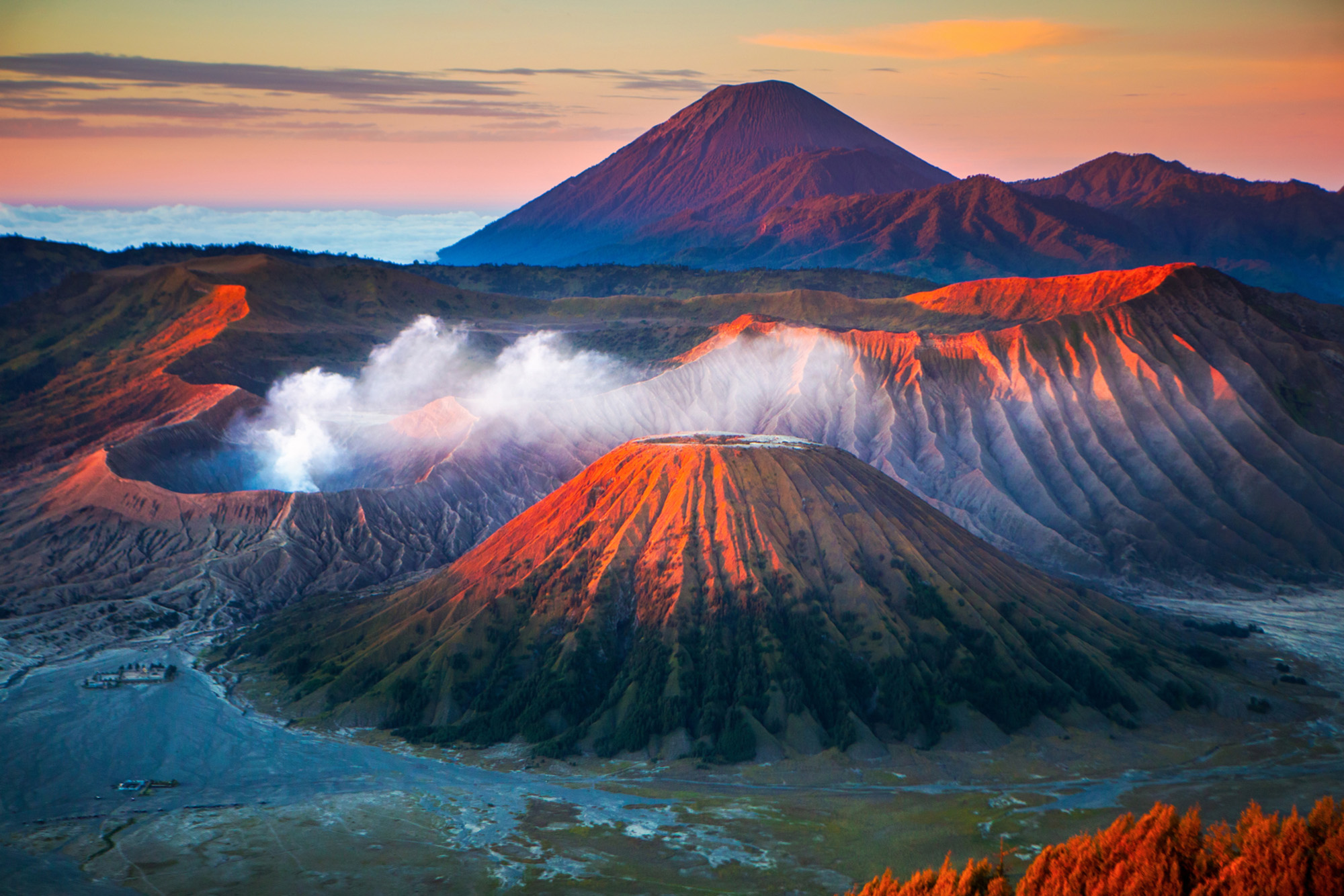 """Mount Bromo in Indonesia """"volcano""""-Cropped"""