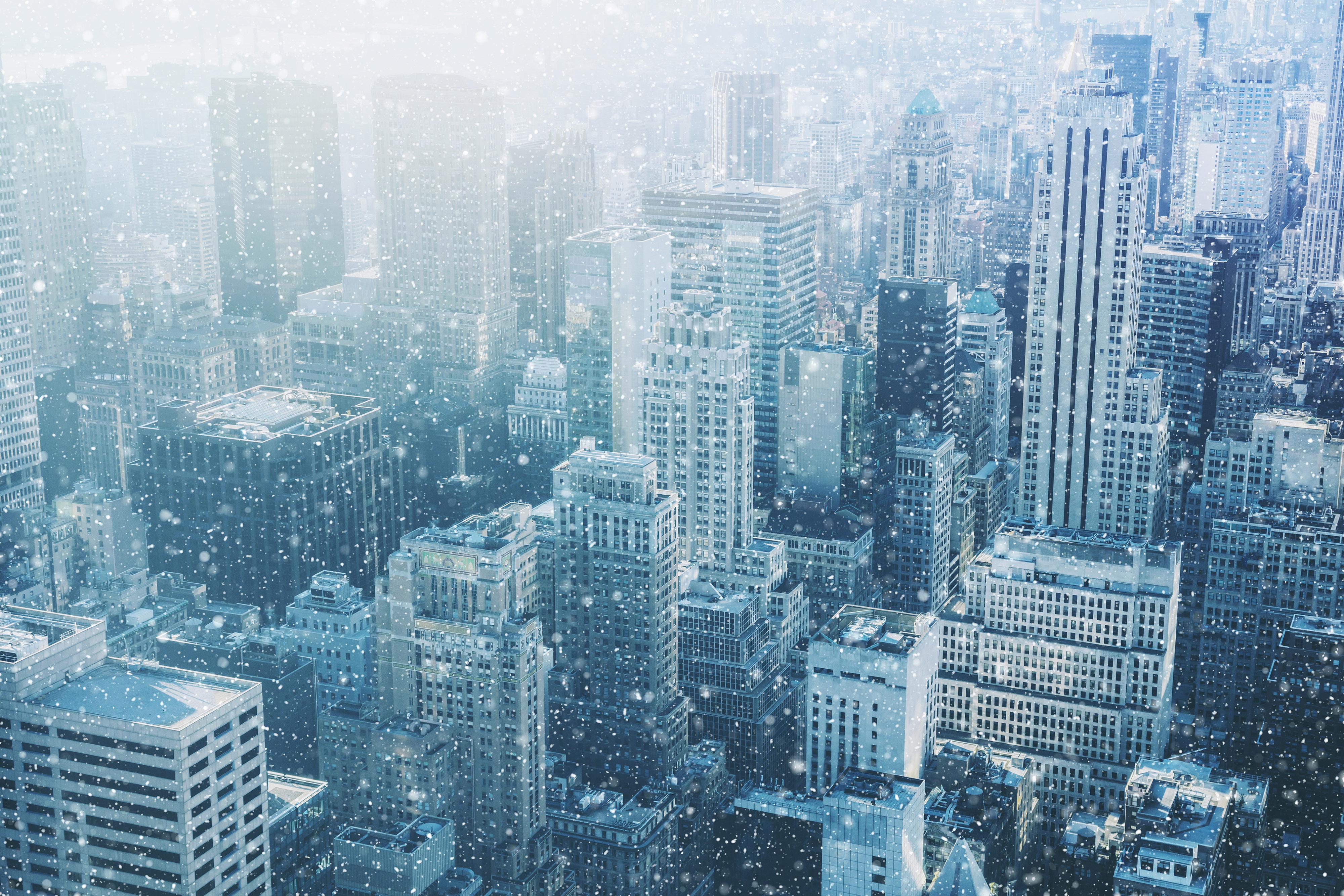 Neve em Nova York 1 - editado