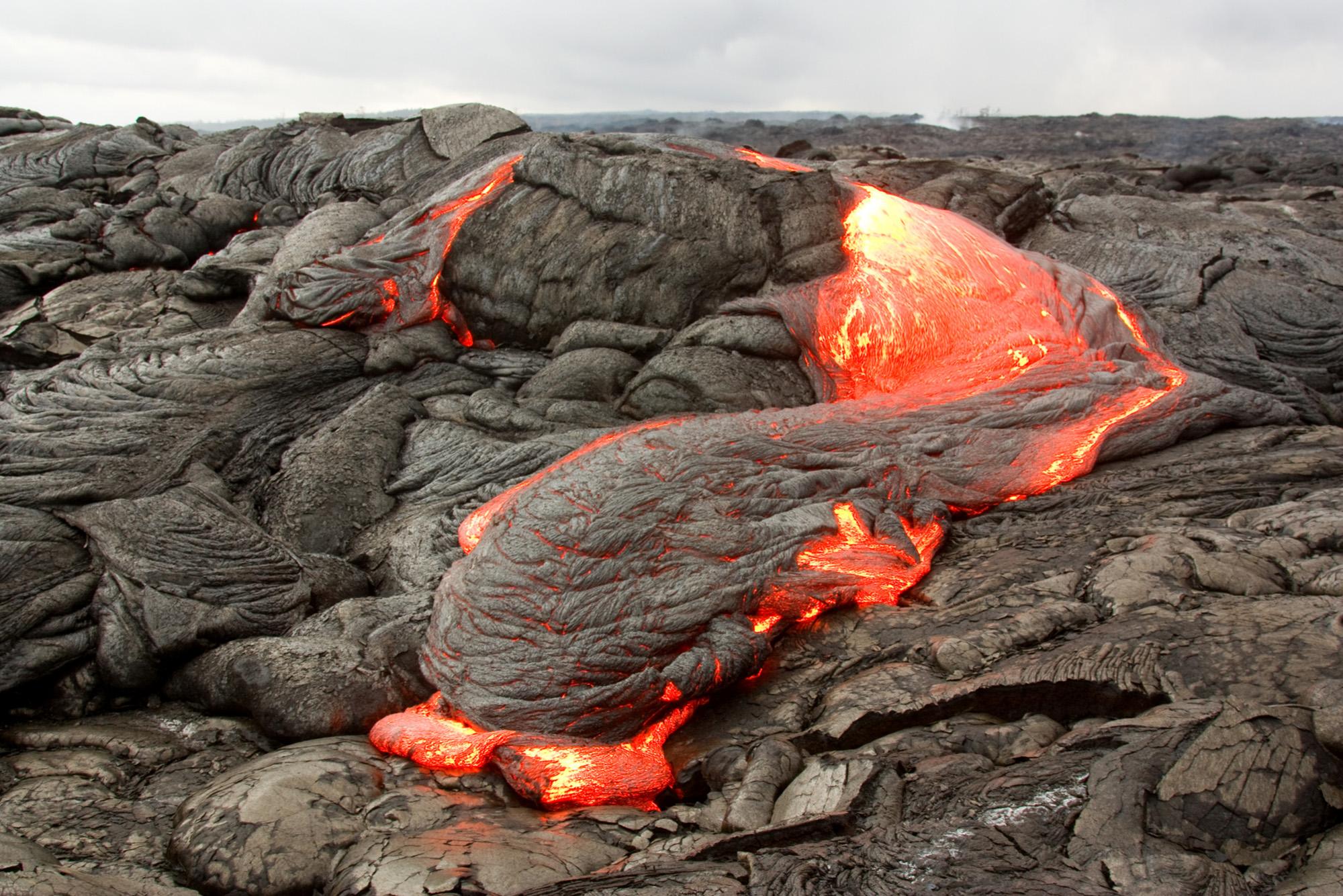 تدفُّق الحمم البركانية البازلتية