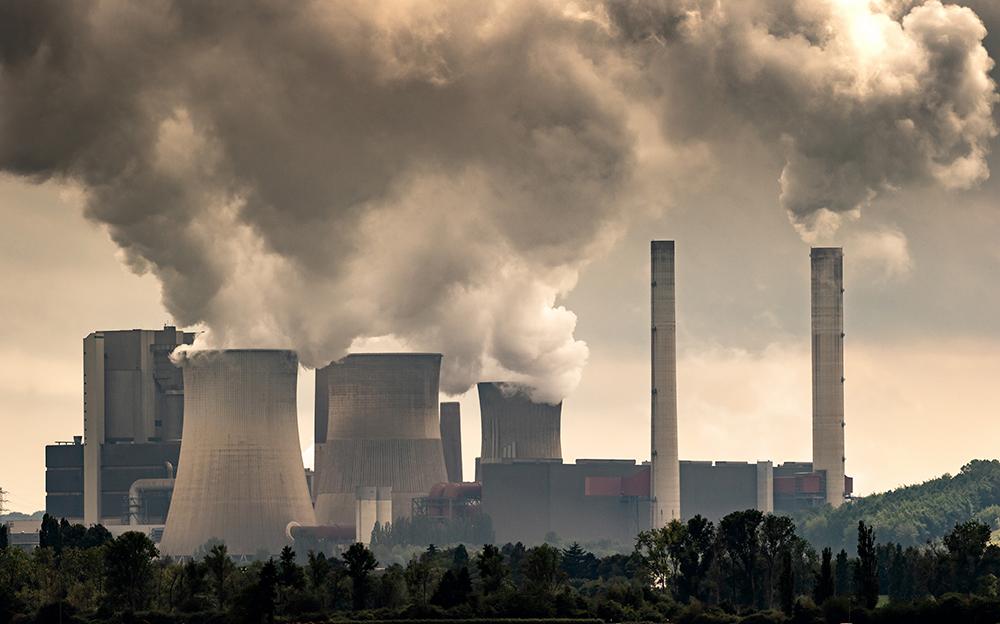 محطة توليد الكهرباء من الفحم البني الصناعي