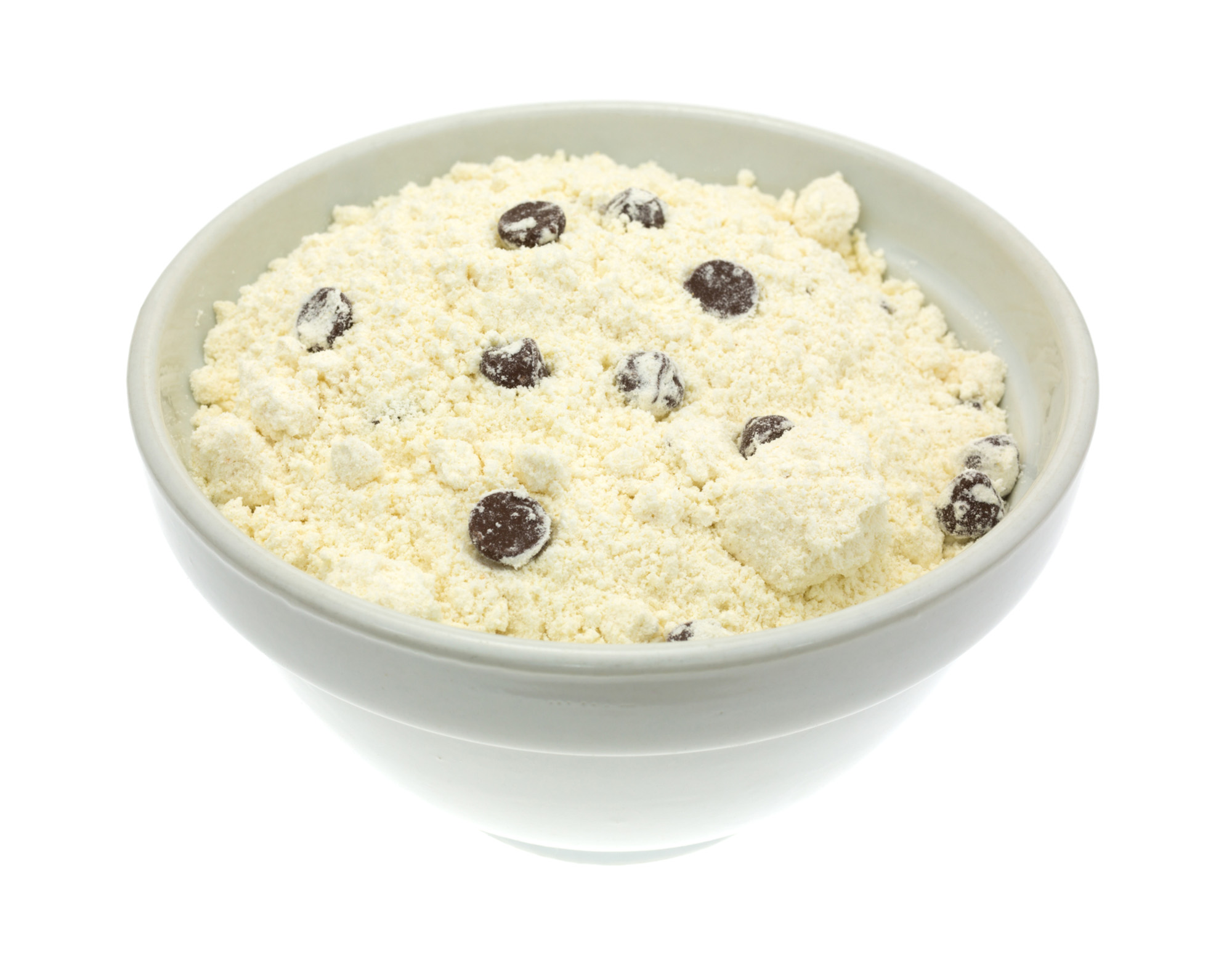Dry chocolate chip cookie mix - 72 ppi